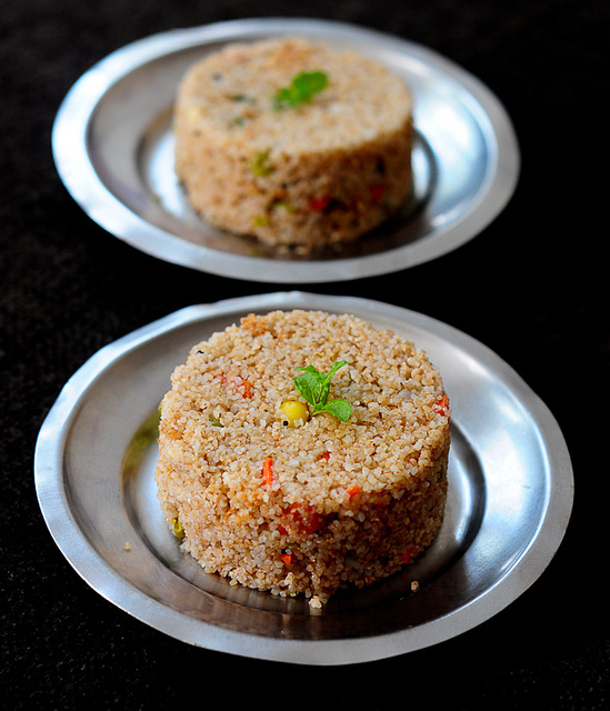 vegetable dalia broken wheat upma recipe