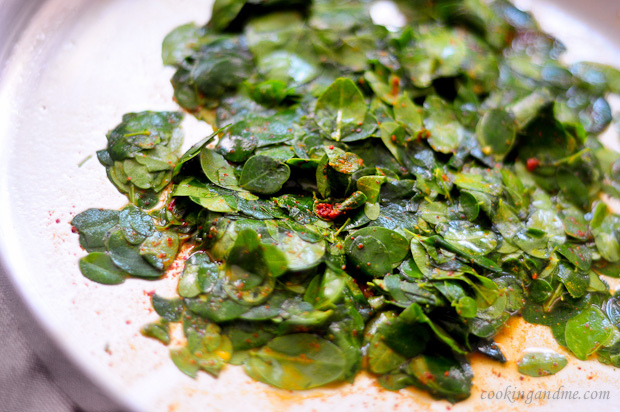 Muringayila Thoran-Kerala Thoran Recipe-Drumstick Leaves cooked with Coconut