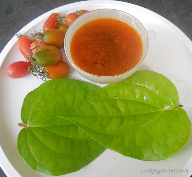 Betel Leaves Rasam / Vethalai (Vetta) Rasam Recipe