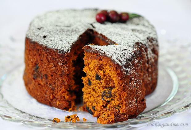 Kerala Plum Cake | Christmas Fruit Cake Recipe