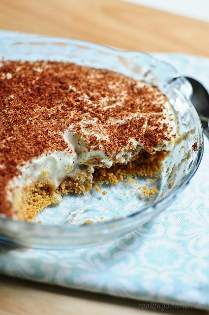 No-Bake Banana Toffee (Banoffee) Pudding Recipe