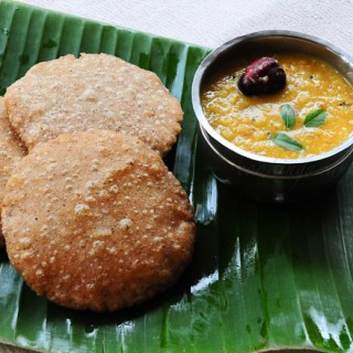 Rotte with Parippu Curry | Kerala Dal Curry | Dal Recipe