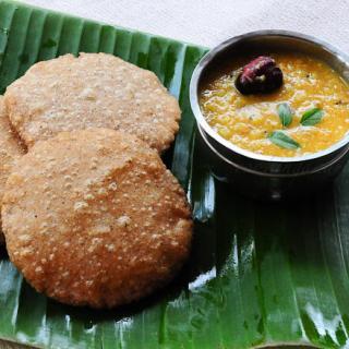 Rotte with Parippu Curry | Kerala Dal Curry | Dal Recipe