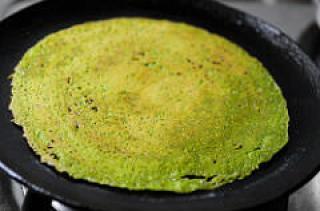 Spinach Adai | Keerai Adai Recipe