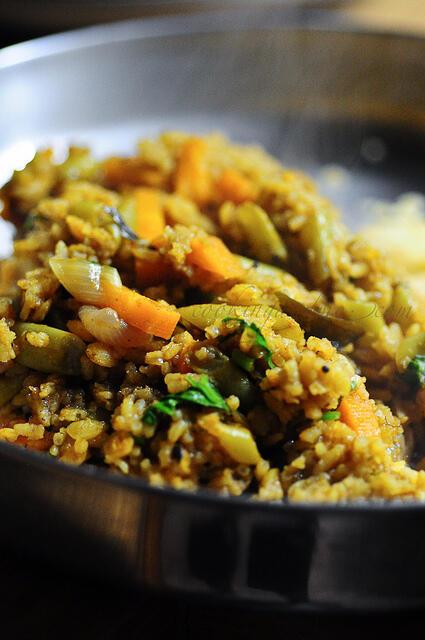 Rice Cooker Recipes ~ Sambar Rice | Sambar Sadam
