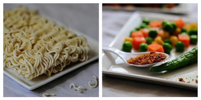 Instant Vegetable Noodles Recipe | Quick Snacks - Edible Garden