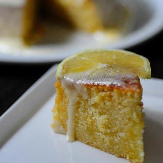 Lemon Diva Cake with Lemon Glaze (Eggless Option Included)