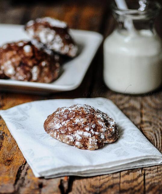 Crinkle Cookies | Crackle Cookies | Christmas Cookie Recipe