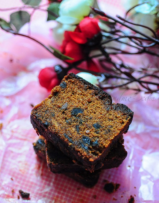 Eggless Fruit Cake Recipe Eggless Plum Cake Edible Garden