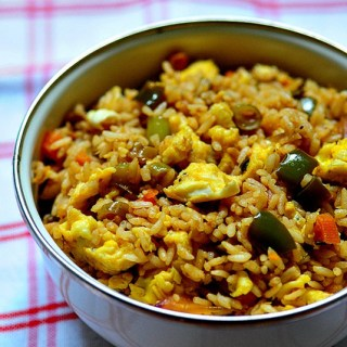 Egg Fried Rice Recipe-Indian-Chinese Egg Fried Rice Recipe