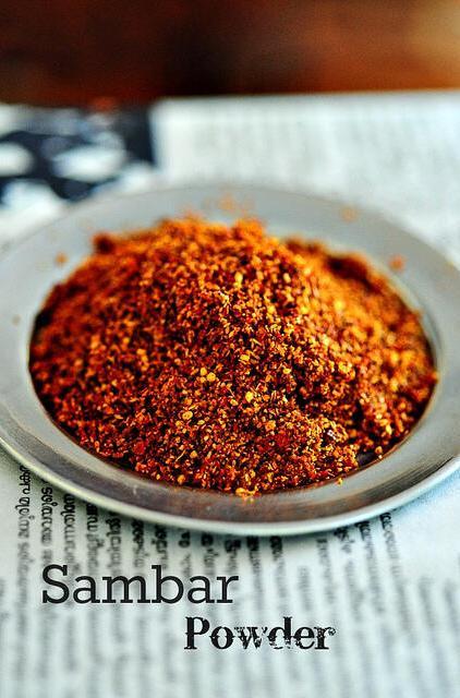 Sambar Powder Recipe-Make Sambar Powder