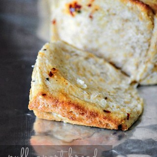 Eggless Garlic Cheese Pull-Apart Bread-Step by Step Recipe