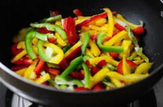 Capsicum Stir-Fry Recipe-Capsicum Sabji Recipe