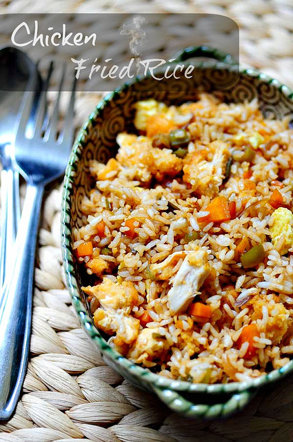 how to make fried rice like chinese restaurants