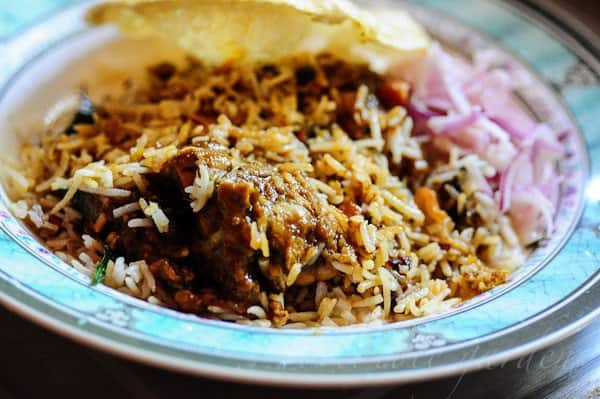 layered chicken biryani recipe