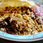 how to make layered chicken biryani