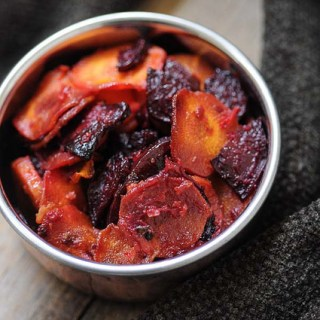 Carrot Beetroot Stir Fry – Carrot Beetroot Mezhukkupuratti Recipe