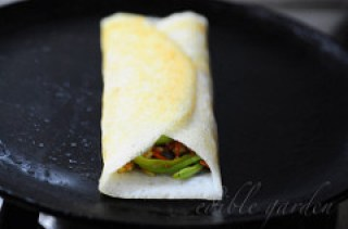 Spring Roll Dosa Recipe