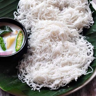 Idiyappam – Kerala-Style Instant Idiyappam or Sevai Recipe
