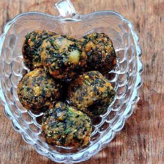 Palak Aloo Tikki – Aloo Palak Tikki – Quick & Easy Snack Recipes