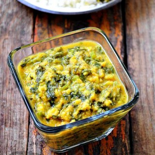 Spinach Kootu Recipe – South Indian Kootu Recipe with Spinach