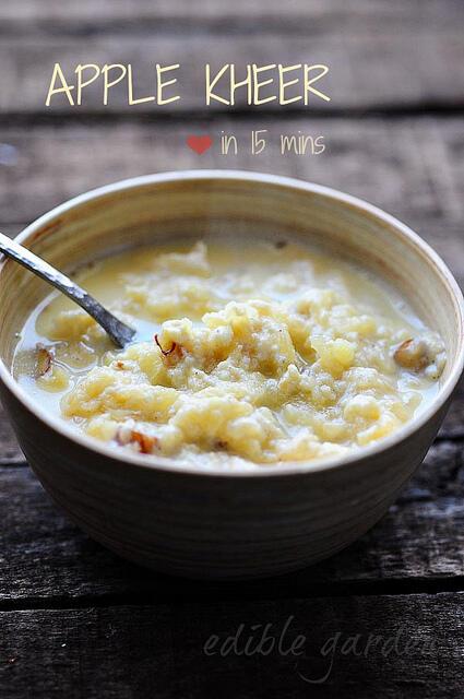 apple kheer-apple kheer recipe-easy diwali sweets