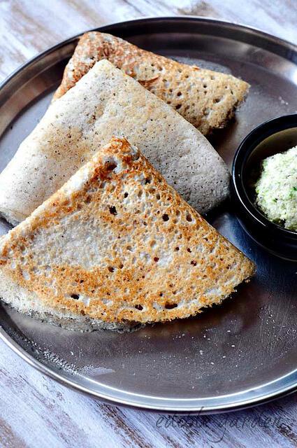 maize dosa-sorghum dosa-jonnalu dosa recipe