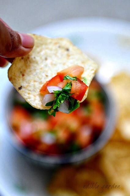 Fresh Chunky Tomato Salsa Recipe - How to Make Tomato Salsa at Home