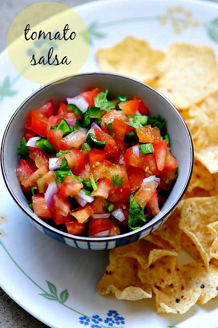 fresh chunky tomato salsa recipe