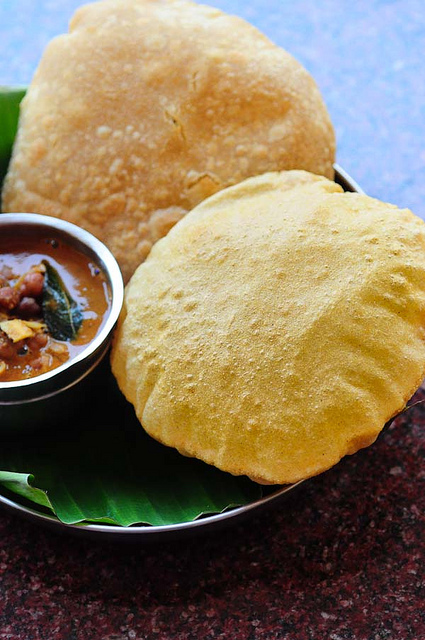corn flour poori-corn flour puri-easy breakfast ideas-9