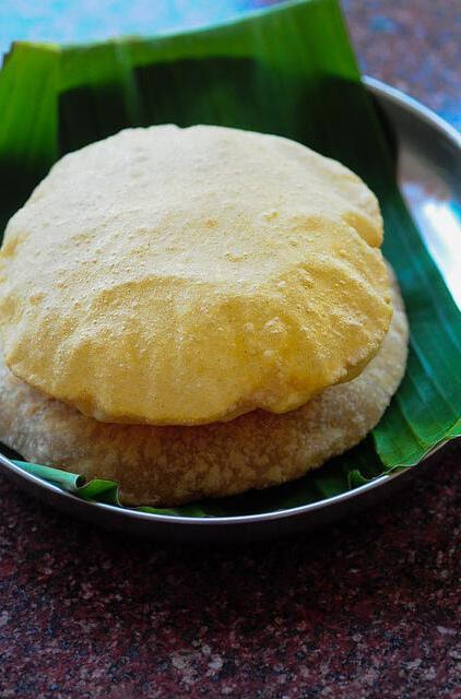 corn flour poori-corn flour puri-easy breakfast ideas-8