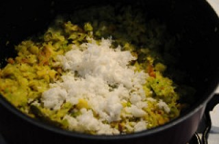 cabbage poriyal recipe-how to make cabbage poriyal-9