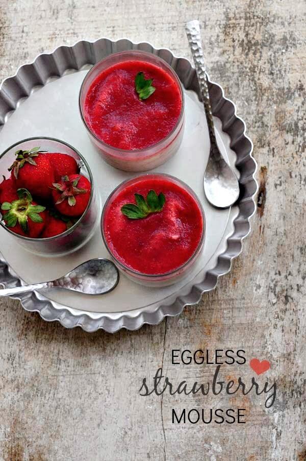Eggless Strawberry Crush Cake