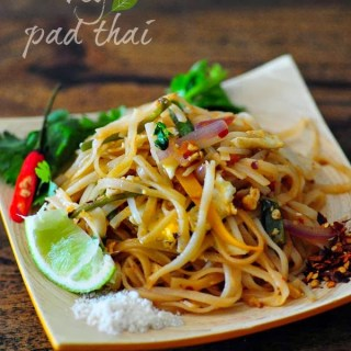 Pad Thai – Vegetarian Pad Thai Noodles Recipe, Step by Step