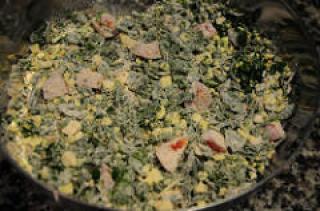 spinach feta muffins recipe-savory muffins recipe-5