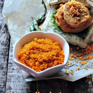 dry garlic chutney recipe for vada pav recipe