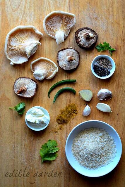 Mushroom Tikki Recipe, How to Make Mushroom Tikki
