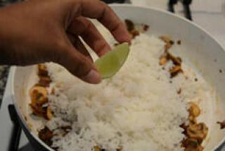 mushroom pulao-mushroom pulao recipe-4