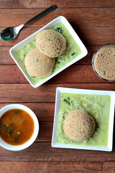 Instant Oats Idli Recipe with Rava, Step by Step