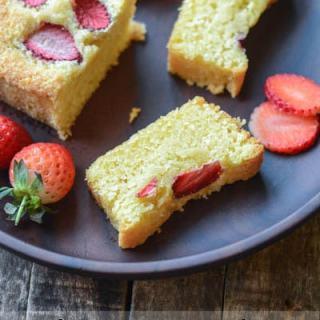 Frangipane Cake Recipe with Almond Flour, step by step