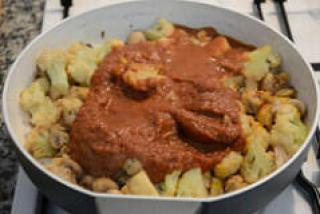 gobi mushroom masala recipe-7