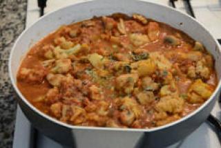 gobi mushroom masala recipe-8