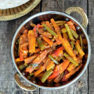 Vegetable Jalfrezi Recipe, Easy Veg Jalfrezi Recipe, Step by Step