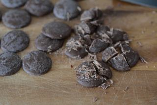 Whole wheat chocolate chip cookies, step by step recipe