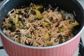 broccoli mushroom fried rice recipe-10
