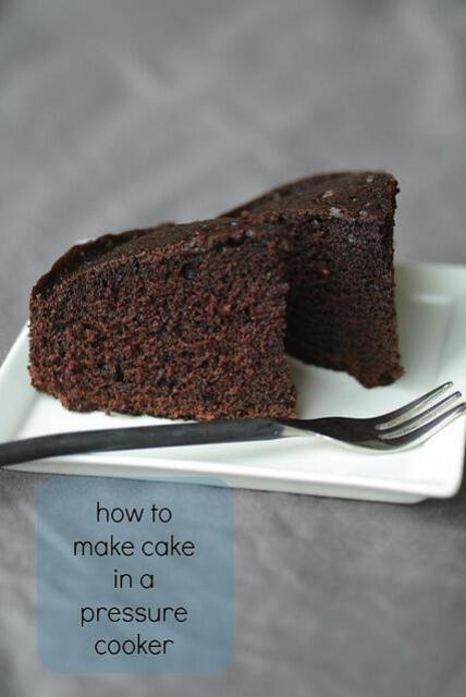 pressure cooker chocolate cake recipe