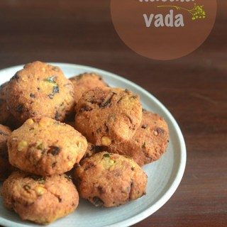 Masala Vada Recipe, How to Make Masala Vadai Step by Step