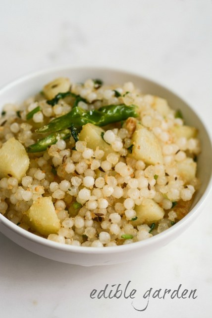 Sabudana khichdi recipe how to make sabudana khichdi edible garden sabudana khichdi recipe how to make sabudana khichdi forumfinder Choice Image