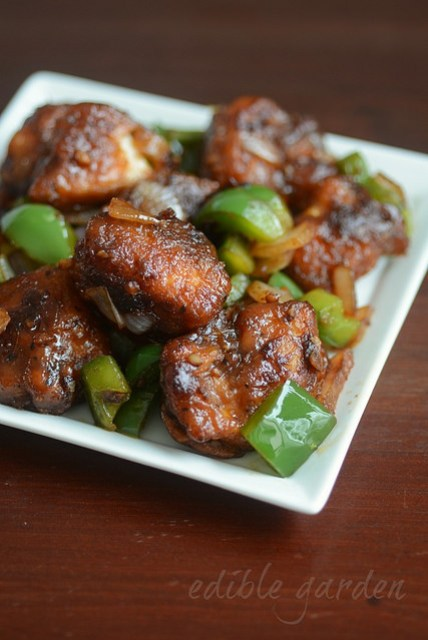 dry indian chilli chicken, how to make chilli chicken