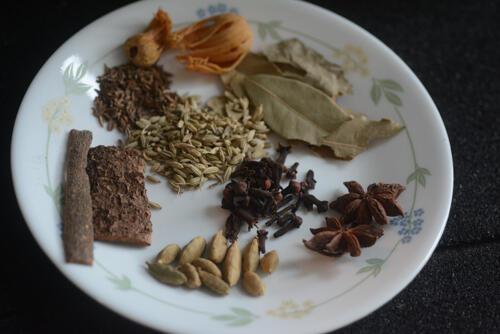 Hyderabadi chicken dum biryani, chicken dum biryani recipe-20